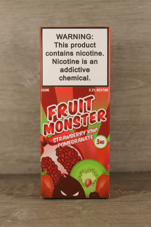 Fruit Monster Strawberry Kiwi Pomengranate 100мл 3мг